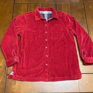 L.L. Bean red corduroy jacket size L/XL